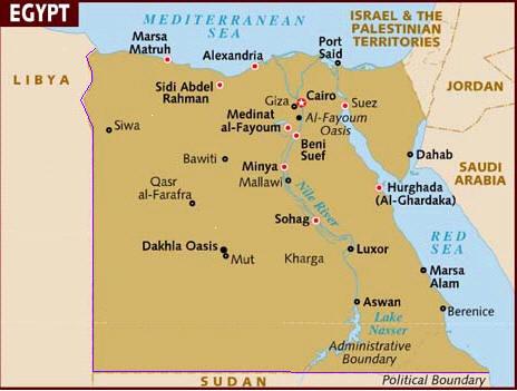 Imgjpg - Map of egypt libya and sudan