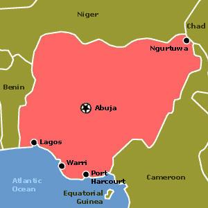 Nigeria - Niger map hd pdf
