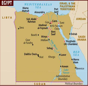 Egypt - What country is egypt in