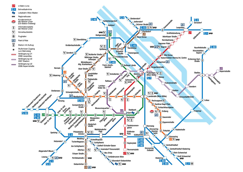 The Vienna Underground System