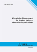 NKM-KM for Nuclear Industry Operating Organizations